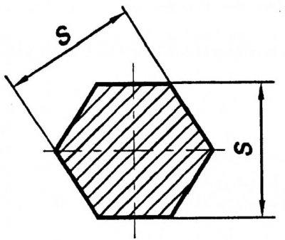Бронзовый шестигранник