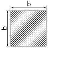 Латунный квадрат