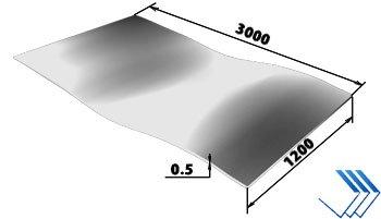 Алюминиевый лист 1105