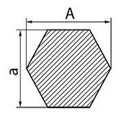 Нержавеющий шестигранник