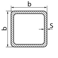 Трубы э/с квадратные